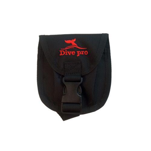 DivePro Bleitasche Weight Pocket 2 kg für Flaschenspanngurt Blei & Bleigürtel