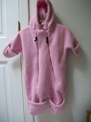 Rugged Bear Little Boys Quilted Fleece Reversible Jacket
