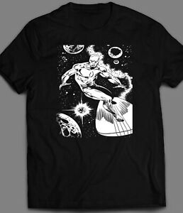 Silver Surfer Comic Book Custom Ink Art T Shirt Full Front Many Sizes Ebay
