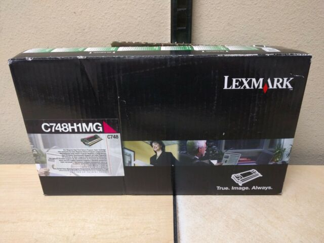 Lexmark C748H1MG High Yield Magenta Toner C748 Genuine OEM