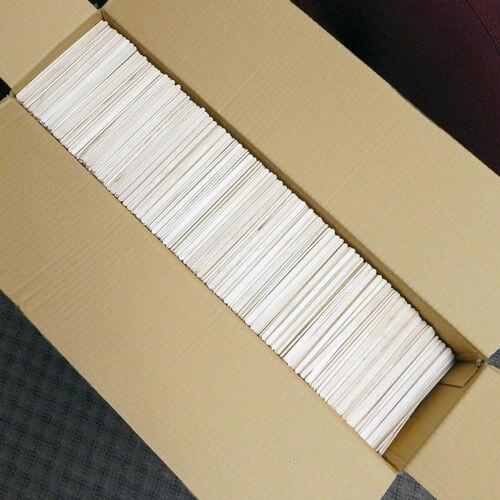 "NEW Fresh Impression CD24 Case Of 10,000 Corn Dog Sticks Birchwood Plain 5.5/"""