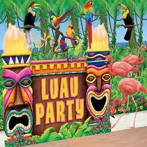 3-7m-M-Tropical-Tiki-TOTEMS-Luau-ISLA-Fiesta-de-verano-Creador-ambiente