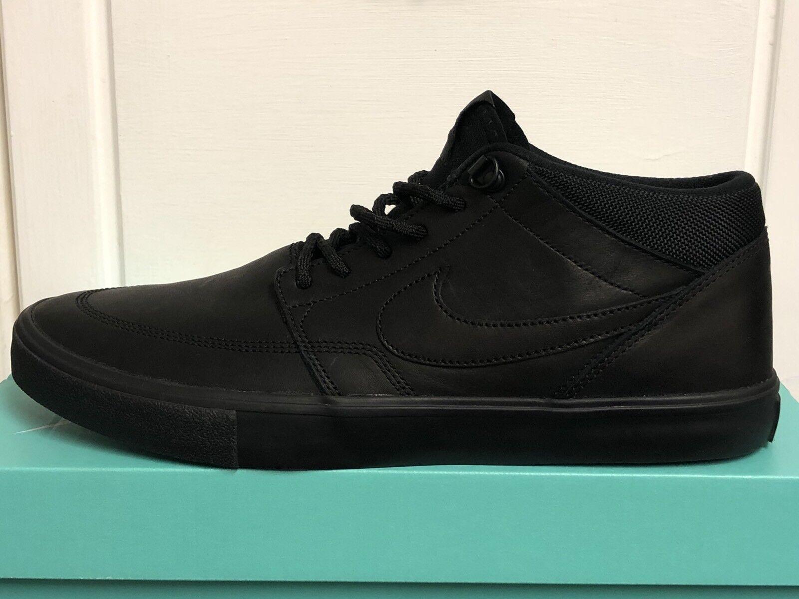 NIKE SB PORTMORE II SOLAR MID Hommes Trainers SNEAKERS Chaussures 6,5 EU40,5 Janoski