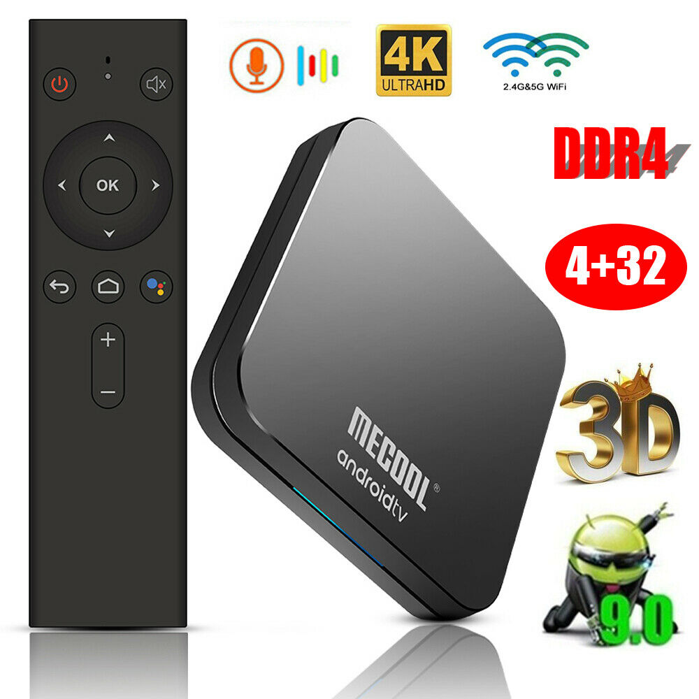MECOOL KM9 Pro 4GB+32GB Voice Android 9.0 TV BOX S905X2 Quad Core 5G WiFi BT4.0 Featured
