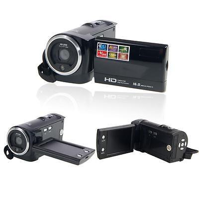 "HD 720P 16MP 2.7"" LCD TFT Digital Video Camcorder Camera 16x Digital ZOOM DV New"