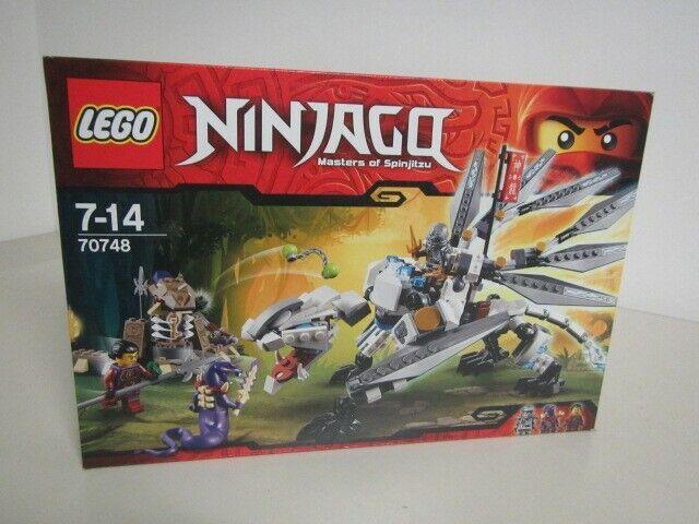 LEGO NINJAGO 70748 TTITANIUM DRAGON  New Nib Sealed Zane, Clouse and Chop'rai
