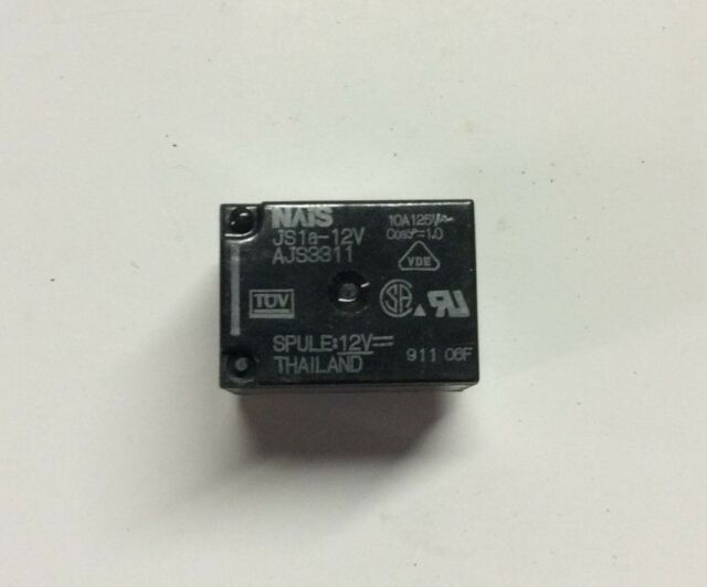 Matsushita NAIS Electric Power Relay JS 1a12v AJS 3311 eBay