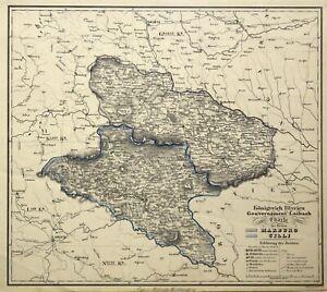 Cartina Stradale Slovenia.Slovenia Maribor Originale Litografia Cartina Geografica Muller 1836 Ebay