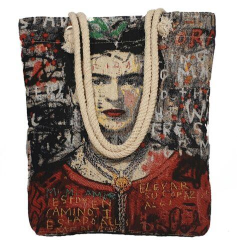 Needlepoint Tapestry Embroidered Frida Gobelin Handmade Shoulder Bag