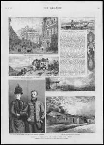 1886-Antique-Print-AUSTRIA-HUNGARY-Crown-Prince-Rudolf-Haydn-Vienna-147