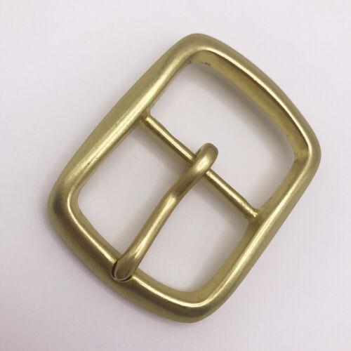 "1.5/"" Solid brass buckle Belt Buckle//Vintage Buckle Center bar Buckle 1 1//2/""38mm"