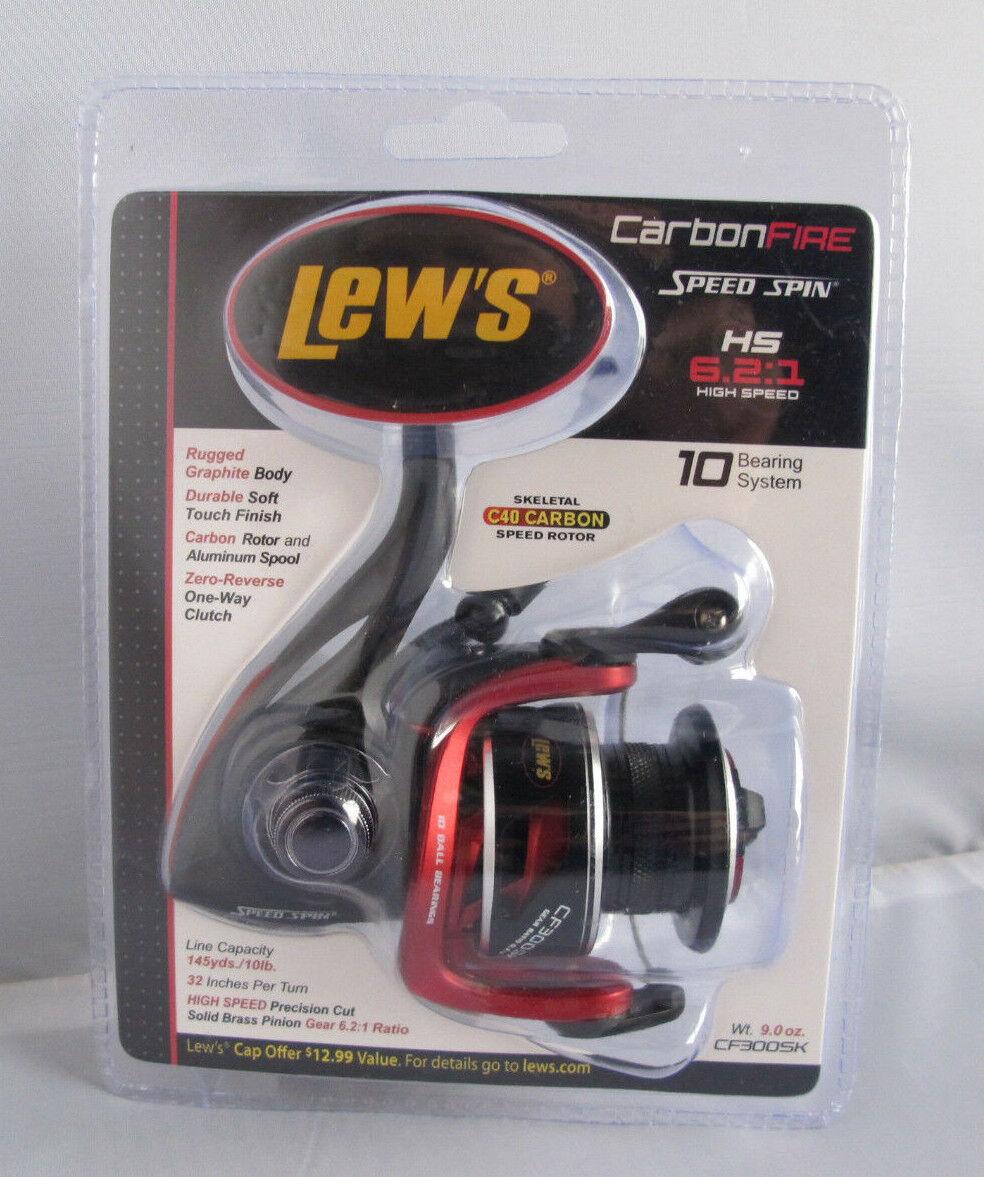 Lew's fuego de Cochebono de alta velocidad de giro Reel CF300SK