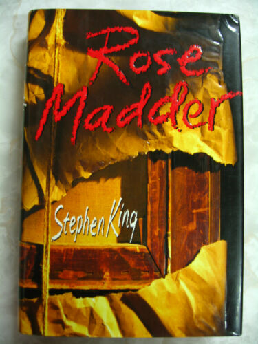 1 of 1 - Rose Madder by Stephen King 1st Hardcover US Viking 1995 A96