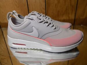 best sneakers ed947 c2415 Image is loading Nike-Wmns-Air-Max-Thea-Ultra-Grey-Pink-