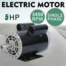 5 Hp Electric Motor Rated Speed 3450 Rpm Single Phase Air Compressor Duty Motor