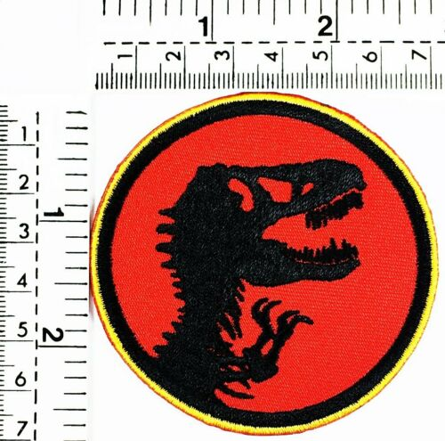 Red king Dinosaur Patch T rex Cartoon Mighty Morphin Power Rangers animal Patch
