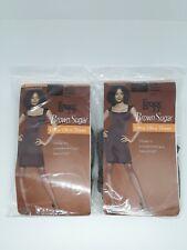 9de7c61a3eb L eggs Brown Sugar Ultra Ultra Sheer Pantyhose Coffee XL 2pack for ...