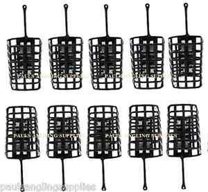 30 grams 20 x Round Metal Cage Feeders Swim feeders, Carp // Coarse fishing