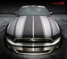 2013 2014 Ford Mustang Rally Double Over the Top Racing Stripes Graphics Decals