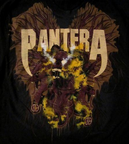PANTERA cd lgo HEART FULL OF LIES Official SHIRT MED new