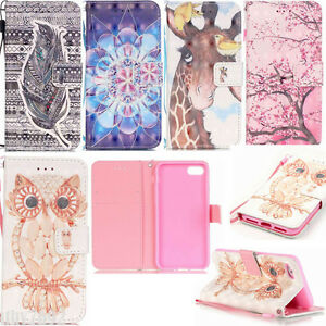 Shockproof-PU-Leather-Magnetic-Flip-Wallet-Stand-Cover-Case-For-iPhone-6S-7-Plus