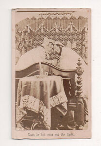 Vintage-CDV-Album-Filler-Victorian-Humour-Last-in-Bed-puts-out-the-Light