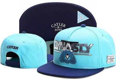 New Hip Hop Men's CAYLER Sons Cap adjustable Baseball Snapback Blue hat 1#