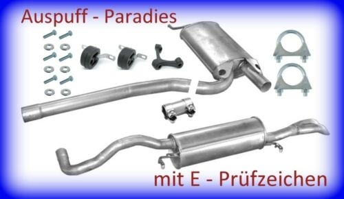 8D2 B5 +Kit /& Avant Abgasanlage Auspuff Audi A4 1.9TDi 66KW /& 81KW Limo 8D5