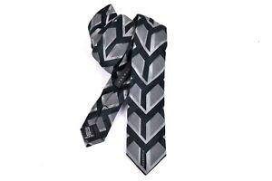John-Richmond-Men-039-s-Tie-Silk-Tie-Neck-Tie-Silk-Accessoires-Grey