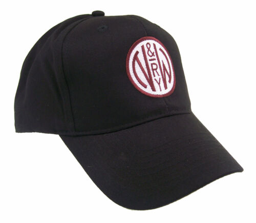 Norfolk /& Western N/&W Railway Embroidered Railroad Cap Hat #40-3600 COLOR CHOICE