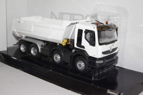 Renault Kerax Kipper weiß  1:43 Norev neu /& OVP 518824