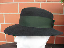 Schützenhut, Trachtenhut, Damenhut, dunkelgrün (petrol) Gr. 53 bis 57