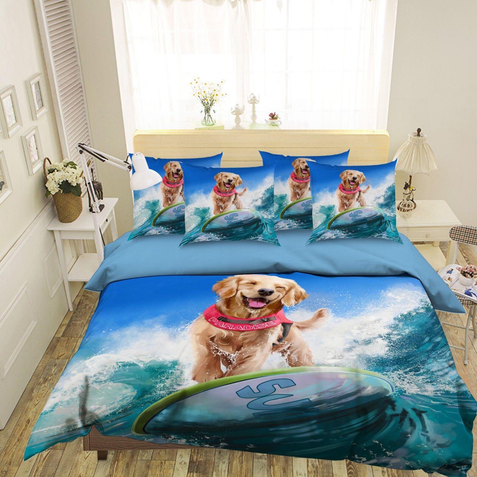 3D Japan Anime 6350  Bett Kissenbezüge steppen Duvet Decken Set Single DE Carly