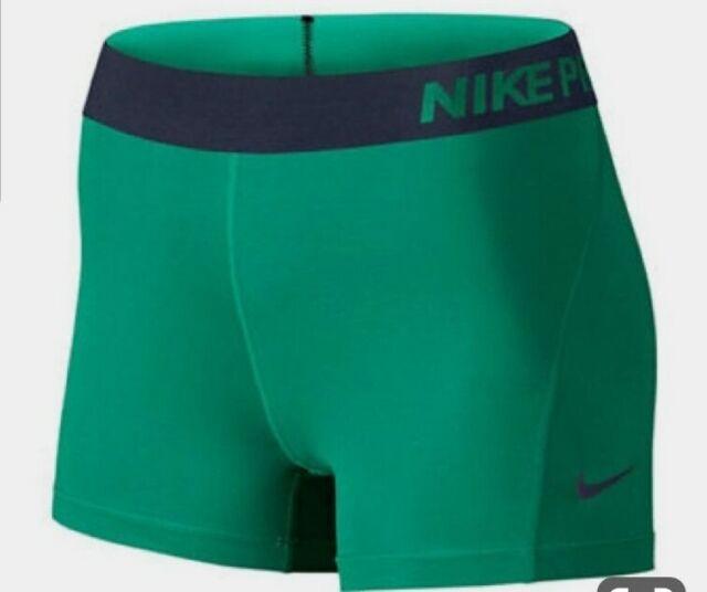 "Nike Women/'s 3/"" Pro Core Compression Shorts Dri-Fit Workout"