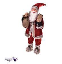 Tradicional Santa Claus Navidad Saco De Pie Decoración Página Inicio Prop Shop