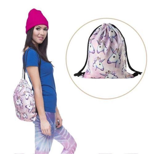 Unicorn Backpack Girls My School Children Girl Little Boy Cartoon Pony Horse Q