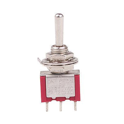 5A MTS-103 ^ Off On 3Position Momentary Kippschalter AC250V 2A 120V On