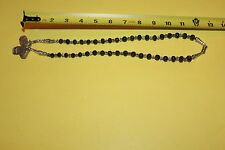 JADE BEAD NECKLACE WITH RELIGIOUS ICONS