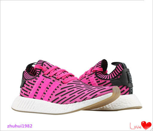 ADIDAS NMD R2 PK PRIMEKNIT SHOCK MEN'S RUNNING SHOES BY9697 BRAND NEW SIZE 8.5