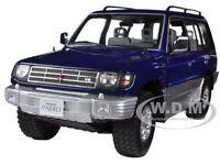 1998 Mitsubishi Pajero Long 3.5 V6 Royal Blue Pearl 1/18 By Sunstar 1223