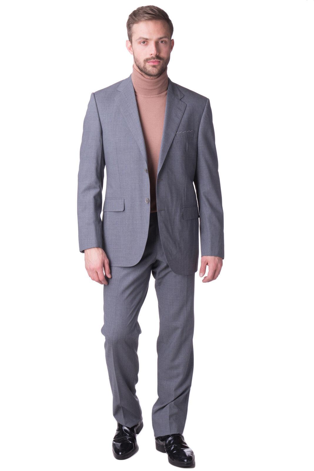 SARTORIA MASSARENTE Wool Suit Größe 52 / XL Single Breasted Made in