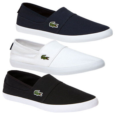 5cdf0d3d43a248 Lacoste Men Casual Shoes Marice BL 2 Cam Slip on Fashion SNEAKERS White 10.  1 product rating. Lacoste Men s Marice Bl 2 CAM Trainers