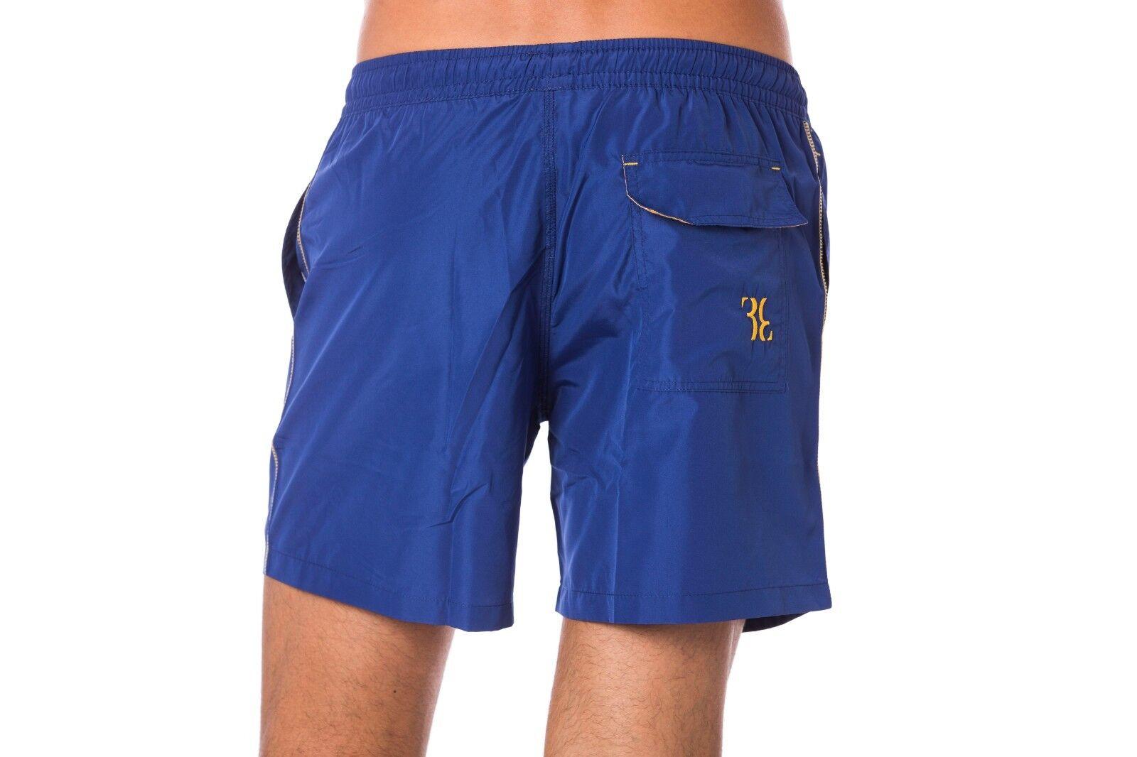 Billionaire Couture Men's SHORT LENGHT SWUIMSUIT bluee (Indigo) sizes  S-4XL