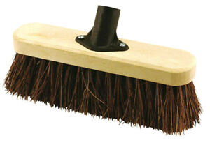 25cm-Broom-Head-With-Natural-Bassine-Fibres-By-Elliott