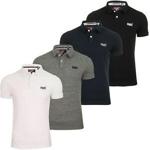 Camisa-clasica-para-hombre-039-Camiseta-Polo-Pique-039