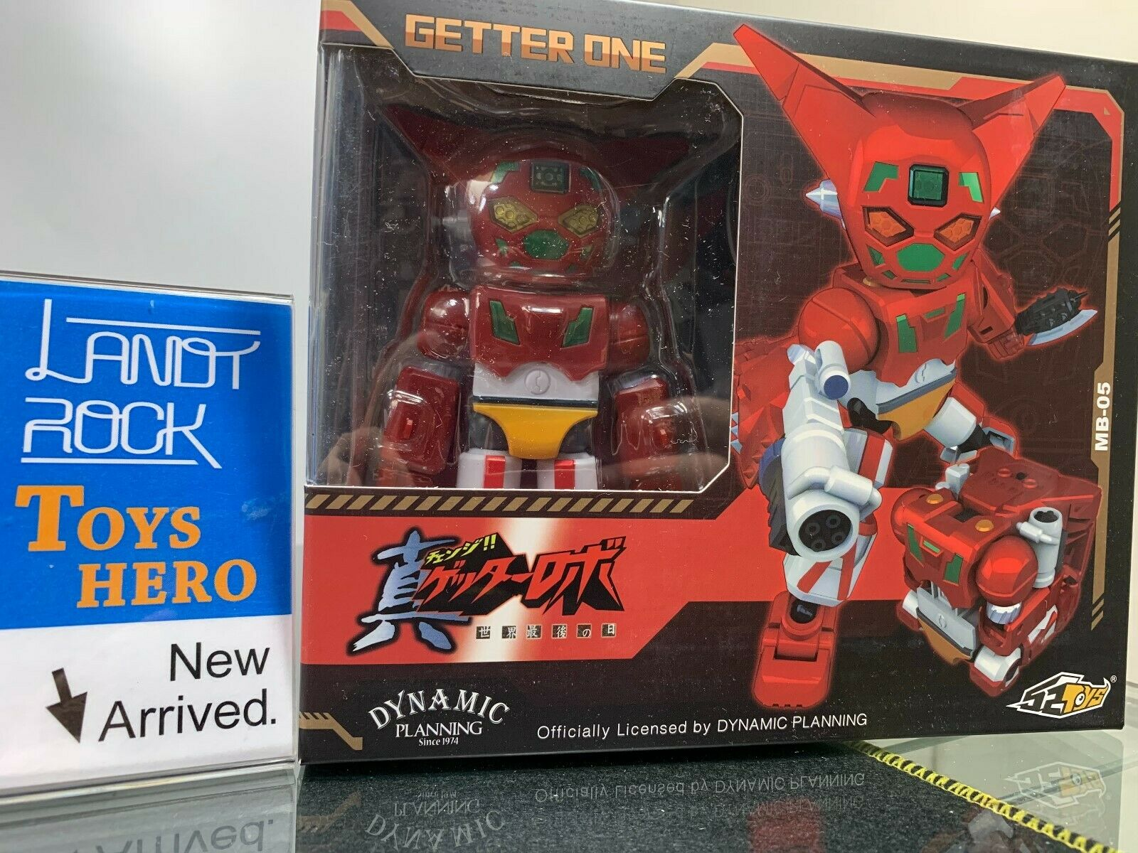 [Toys Hero] In Hand 52Toys MEGABOX Getter One One One Robot MB-05 Red color 60491b