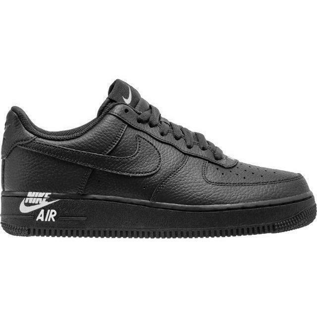 taniej tanie jak barszcz ogromna zniżka NIKE AIR FORCE 1 '07 LEATHER LOW MENS AJ7280-002 BLACK WHITE OG NEW SHIP  NOW AF1
