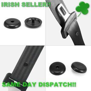 Seat-Belt-Stopper-Clip-Retainer-Black-5-Pcs-Irish-seller-Irish-stock