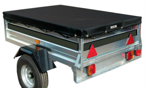 Black Waterproof /& Breathable Protection Trailer Cover 180x120x8cm Sumex Cover