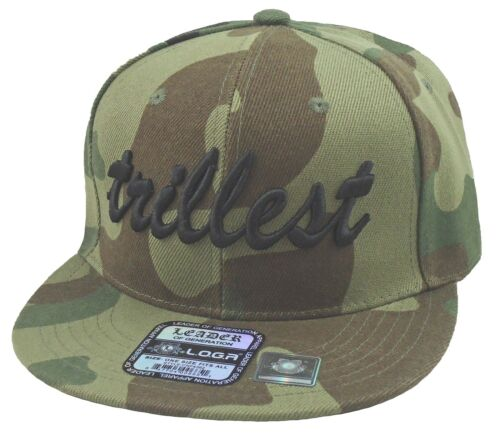 NEW Trillest Hat Snap-back Cap Many Colors AVAILABLE REGISTER  G  2